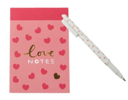 kikki.K Pad and Pen you and me collection