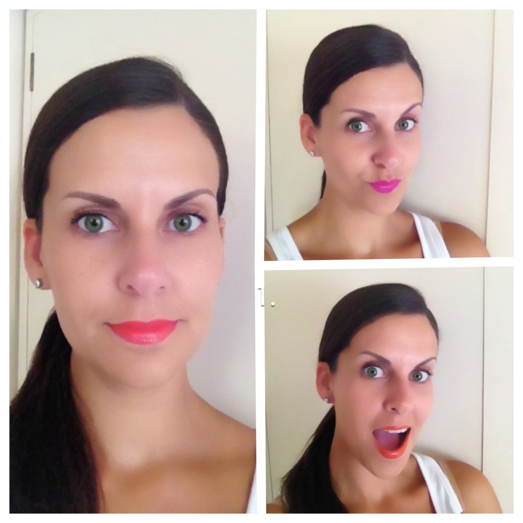 LIP Colour BRIGHT AND BOLD pop of color lipstick