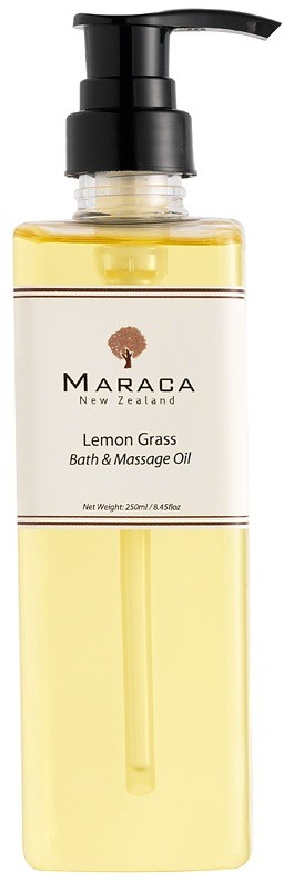 Maraca Lemon Grass Bath Oil New Zealand Beauty Blogger