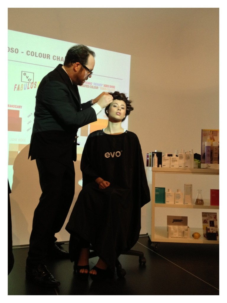 Evo, BeatPR, Hair, Beauty, Salon, Hairdresser, Hair Style, FABULOSO, Leonard Newton, Event, beauty blog nz, style blog nz, fashion blog nz, new Zealand blogger, Angie Fredatovich, Angela March, evo hair products, gurlinterrupted