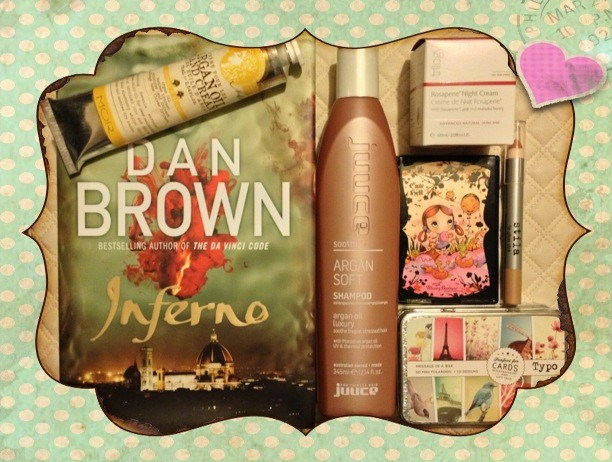 MOR Cosmetics NZ, stila, Trilogy, juuce argan soft, hairproductsonline, Dan Brown, Book Review NZ, Typo, book review, beauty blog nz, style blog nz, makeup beauty guru, Angie Fredatovich, Typo NZ