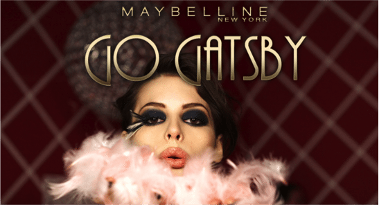 The Great Gatsby, Maybelline New York, Giveaway, beauty blog nz, style blog nz, fashion blog nz, beauty media nz, makeup, cosmetics, go gatsby, trend