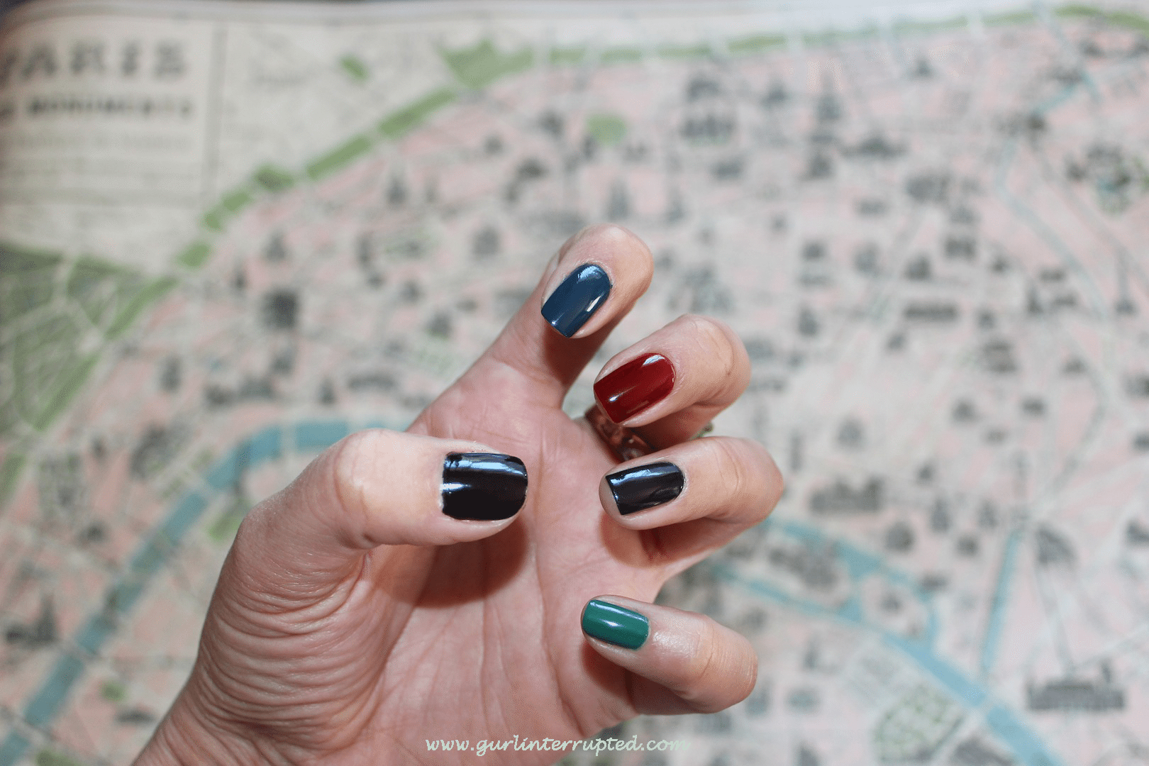 Bejewelled Nails and Jewel Tones Manicure, nails, nail polish, nail art, nail design, OPI, OPI Nail Polish NZ, beauty, beauty blog nz, fashion blog nz, style blog nz, angie fredatovich, gurlinterrupted, girl interrupted, jewels, accessories nz