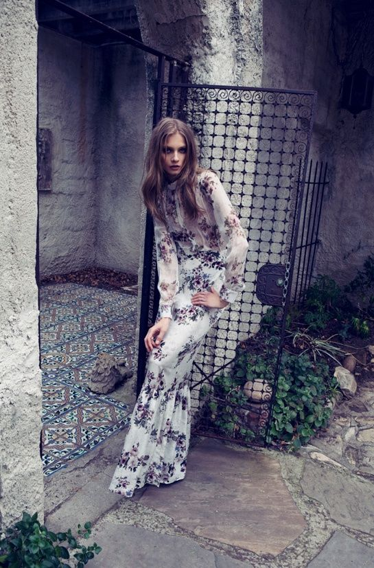 Beautiful Editorials, Interview With A Vampire, Anna Selezneva, For Love and Lemons, Fashion, fashion blog nz, style blog nz, beauty blog nz, fashion media, beauty media