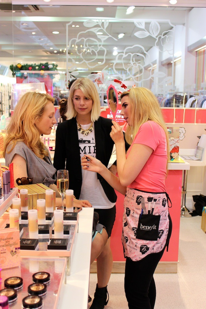 Benefit Cosmetics, Benefit Cosmetics NZ, Smith and Caugheys, Newmarket, Kaye Larner, Rebecca McConagle, beauty blog nz, fashion blog nz, style blog nz, beauty media nz, fashion media nz, angie fredatovich, gurlinterrupted, fashion, beauty