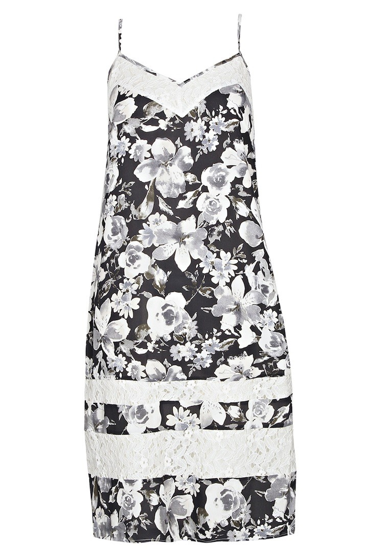 BOOHOO BOUTIQUE Jen Floral Georgette Cami Dress $65.00
