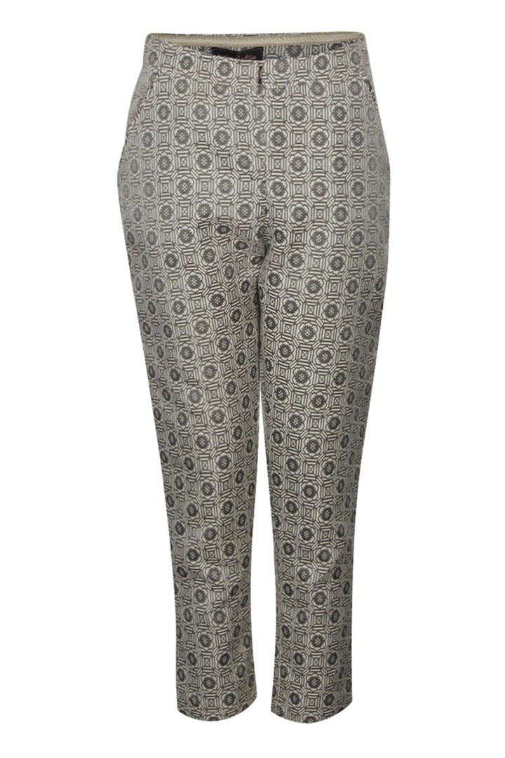 BOOHOO BOUTIQUE Lottie Metallic Side Split Brocade Trousers $65.00