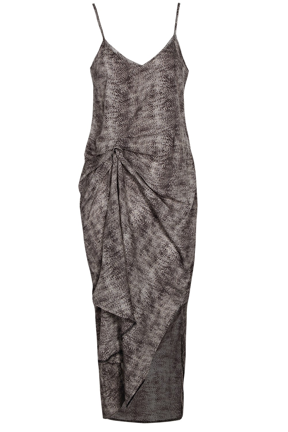 BOOHOO BOUTIQUE Rio Snake Crepe Georgette Cami Dress $65.00