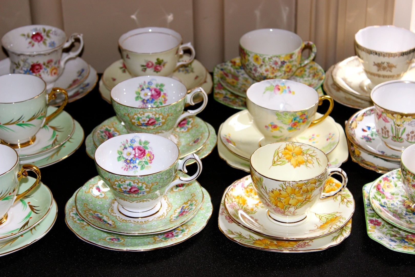 playing to my vintage teacup obsession