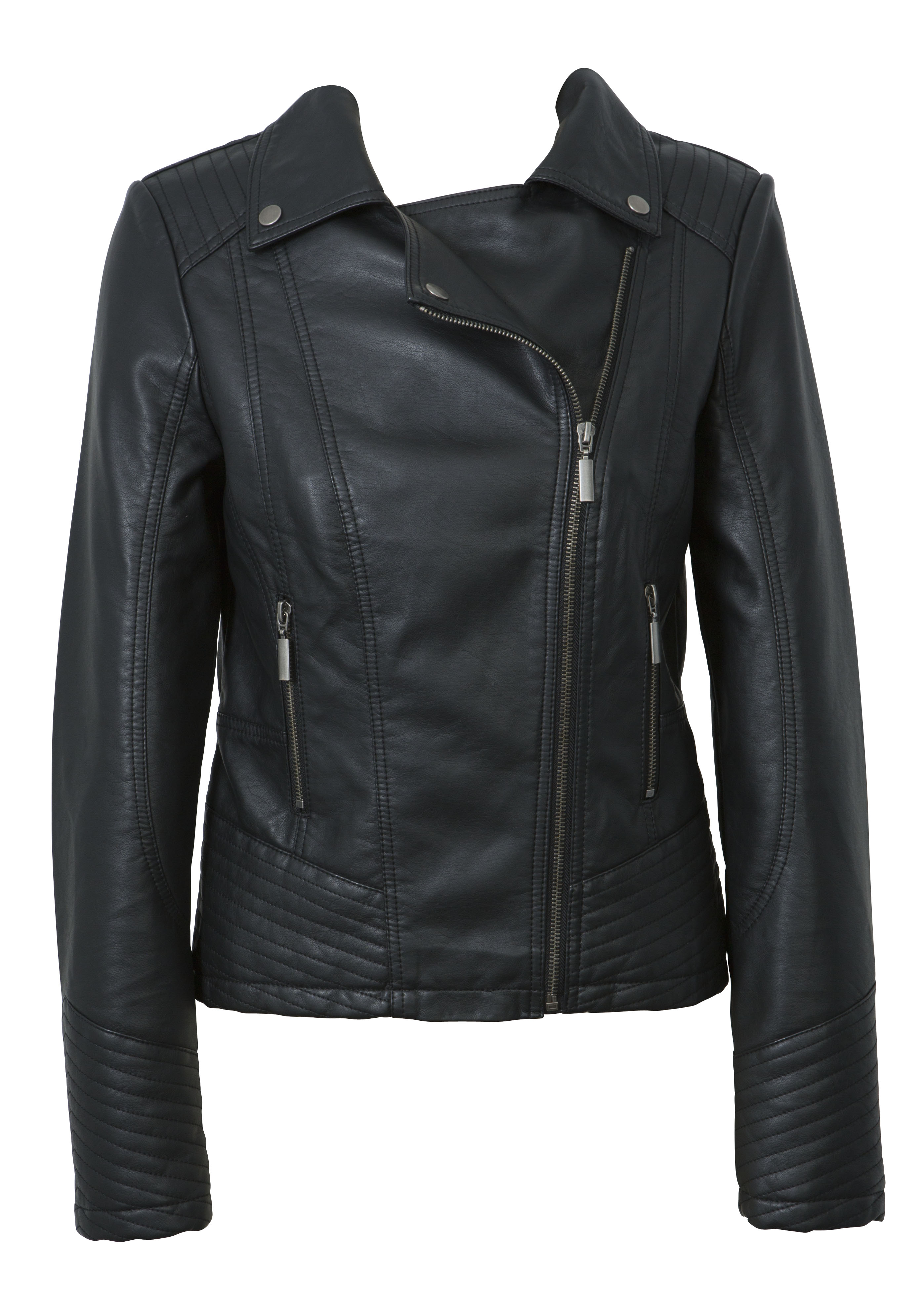 Whistle Biker Jacket, $129.99, Inst March
