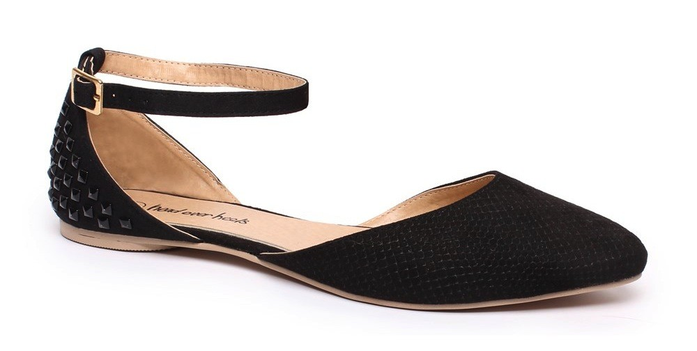 Number One Shoes Black Iris flat $29.99
