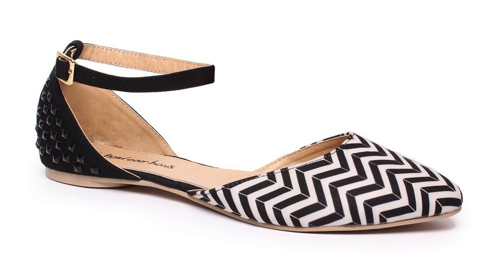 Number One Shoes Iris print Flat $29.99
