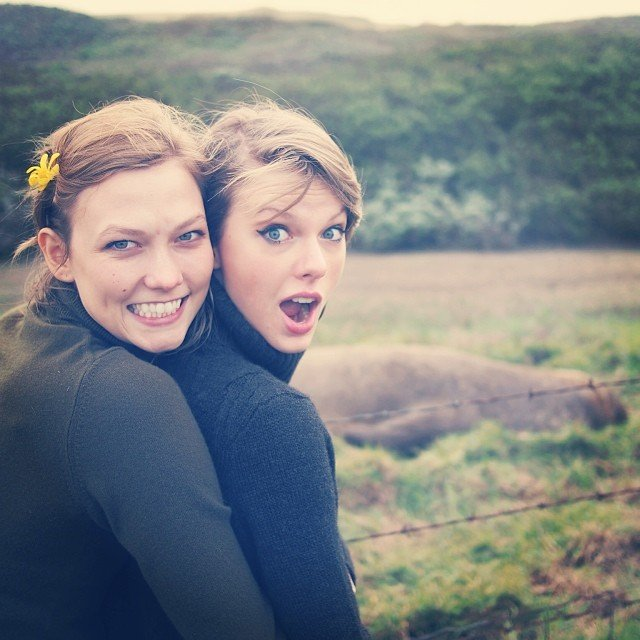 INSTAGRAM MUST BE GOING INTO OVERDRIVE! Taylor Swift & Karlie Kloss Share Their Road Trip...