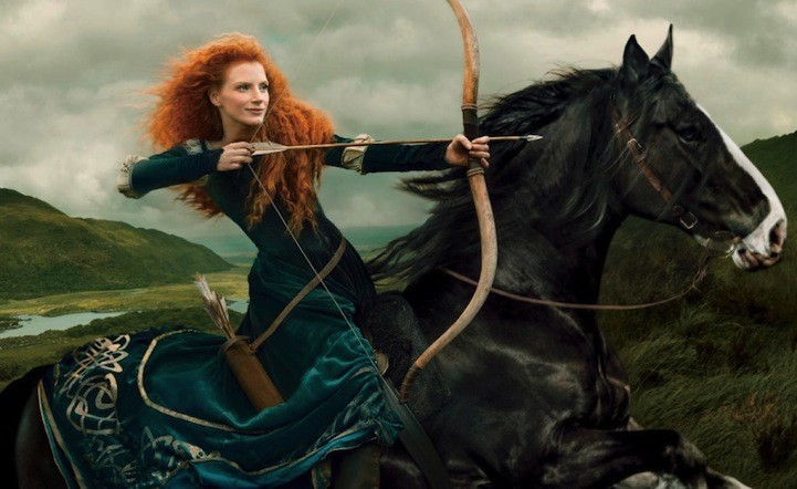Beautiful Editorials: Annie Leibovitz's Disney Dream Portraits