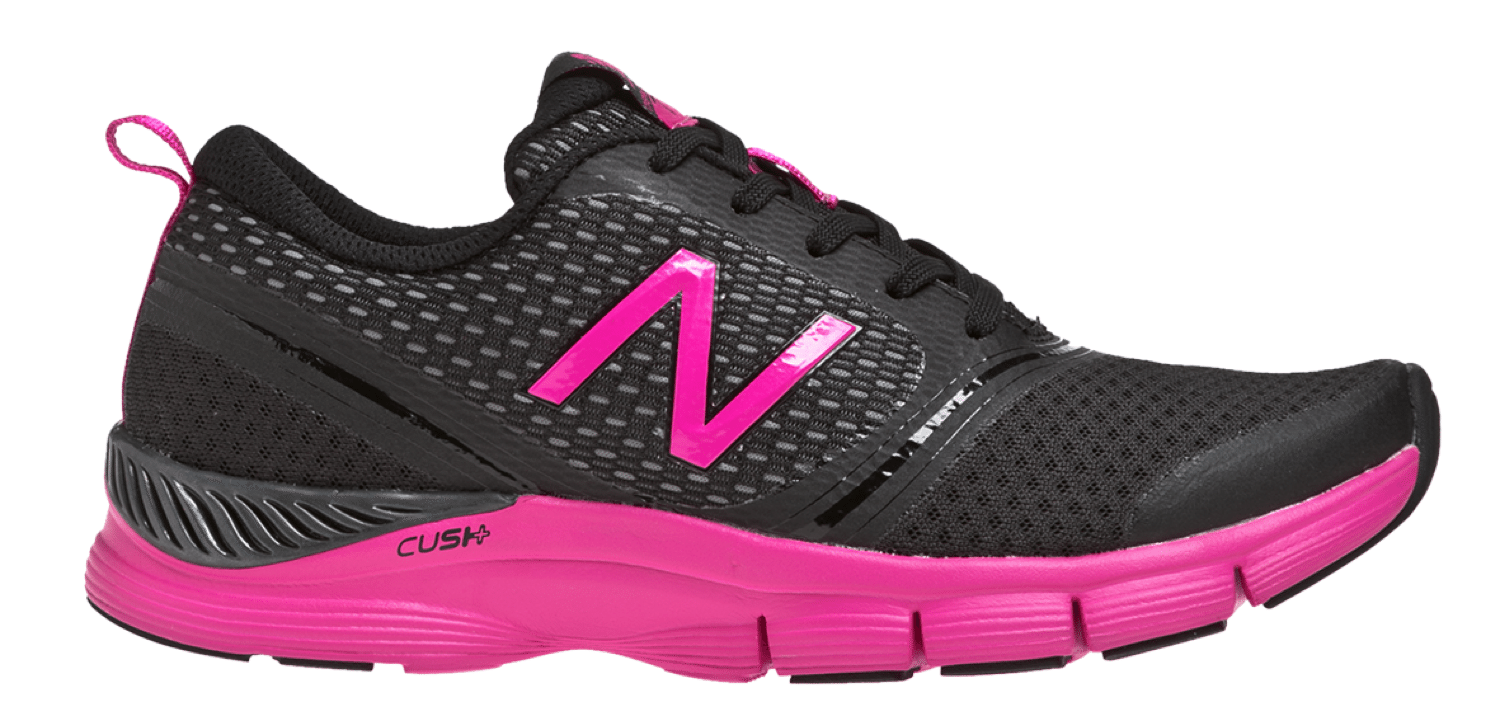 New Balance Cush Black and Pink