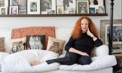 Inside Grace Coddington's Apartment