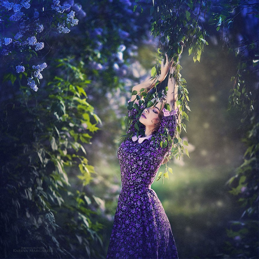 Beautiful Editorials: Russian Photographer, Margarita Kareva, Makes The World Look Like A Fairy Tale...