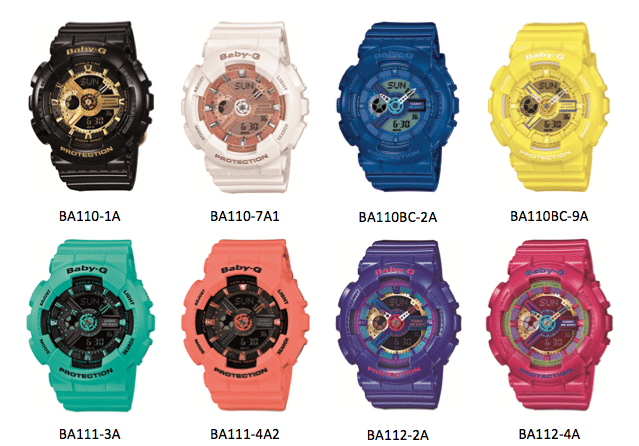 Baby-G Releases Limited Edition Styles To Mark 20th Anniversary