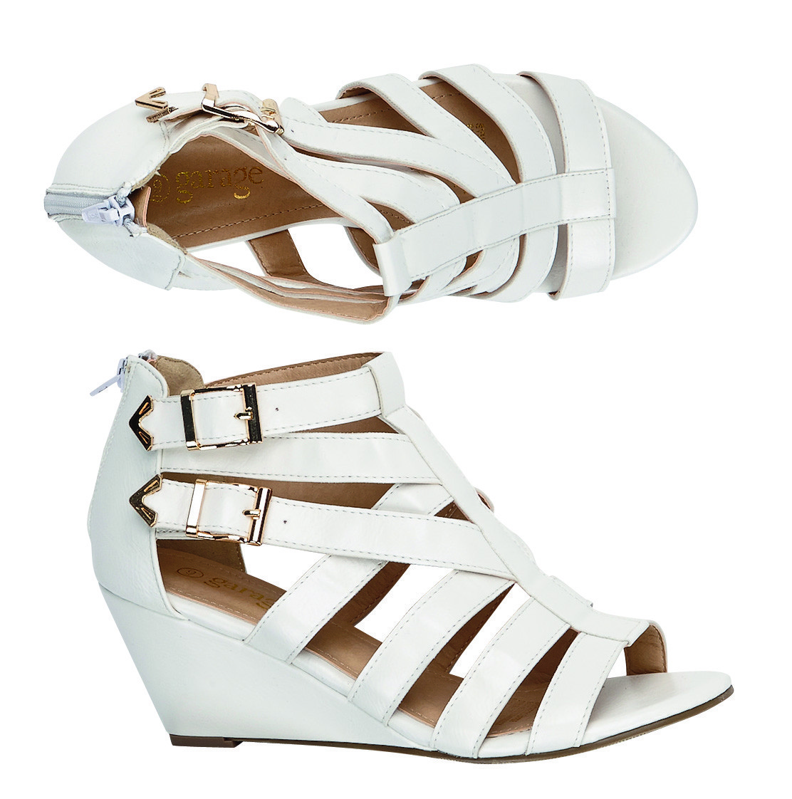 The Warehouse Carman Sandals - White $30