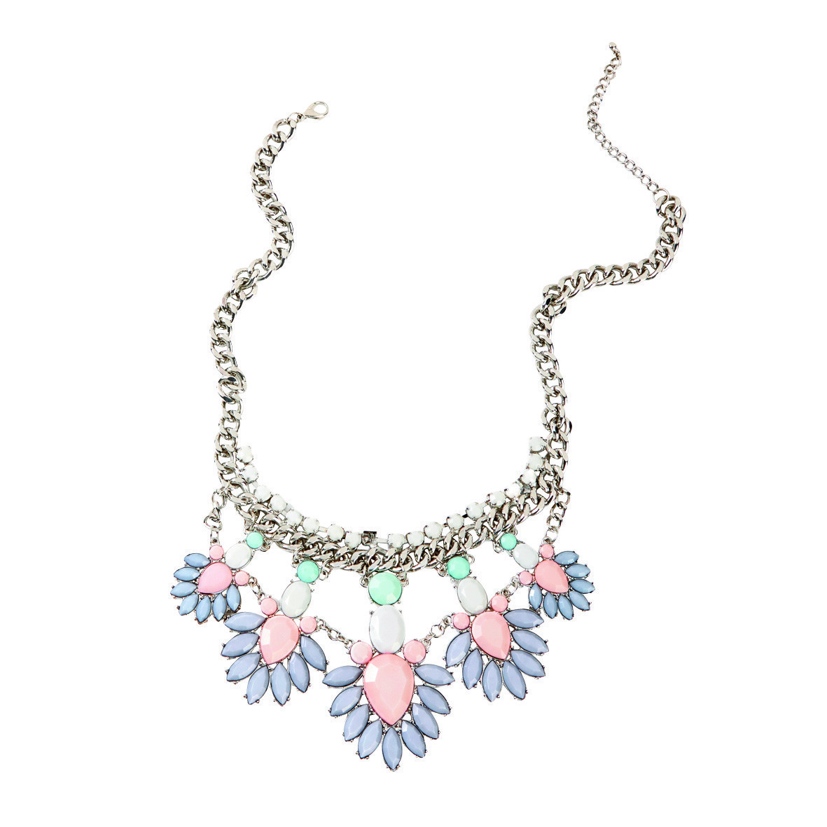 The Warehouse Debut Garden Pastel Necklace $25