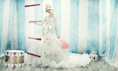 Beautiful Editorials: Fashion At The Circus - A Freak Show