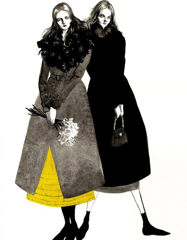 Beautiful Editorials: Bijou Karman's Fashion Illustrations...