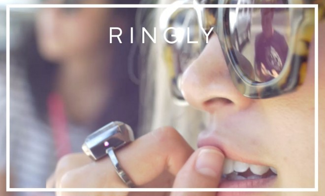 Jewellery Meets Technology! Accessorise With The Latest Wearable Technology - The Uber-Chic New 'RINGLY'