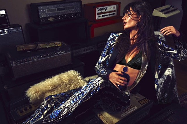 Beautiful Editorials: Lily Aldridge - The Rock Muse...