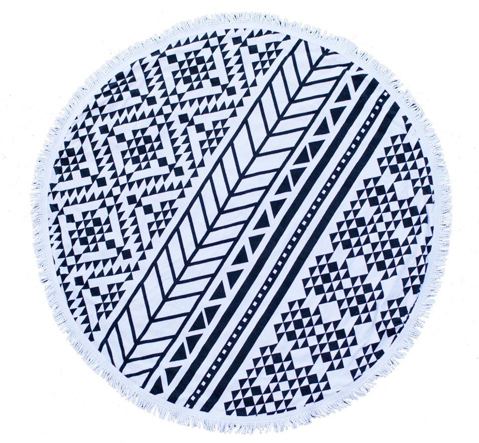 Summer's Most Coveted Accessory: The Roundie Towel by The Beach People...