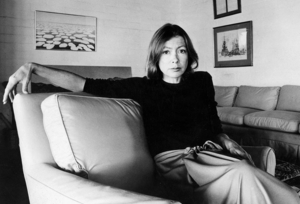 Literary Icon Joan Didion Is The New Face Of Fashion House Céline
