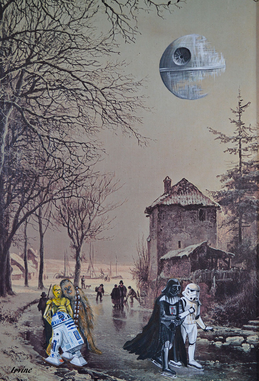 Altered Art: David Irvine Turns Thrift Store Art Into Pop Culture