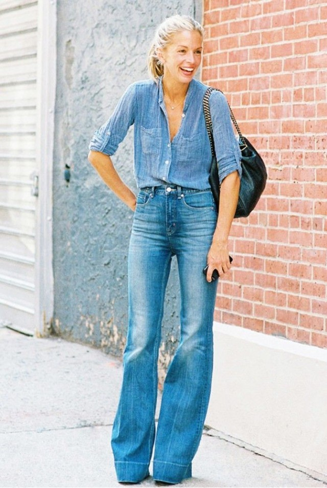 Style Sessions: The Flared Denim Trend
