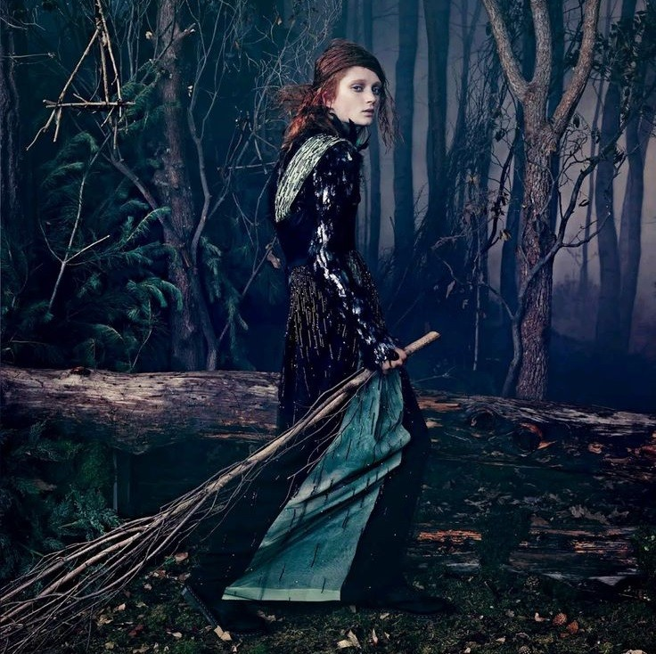 Beautiful Editorials: Witching Hour Meets Couture