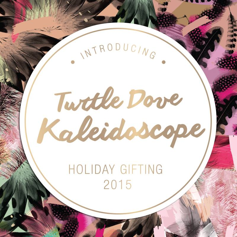 MOR Holiday Gifting - Turtle Dove Kaleidoscope angie fredatovich nz