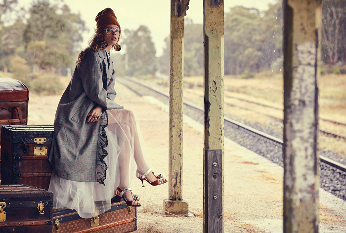 Beautiful Editorials: The Last Train
