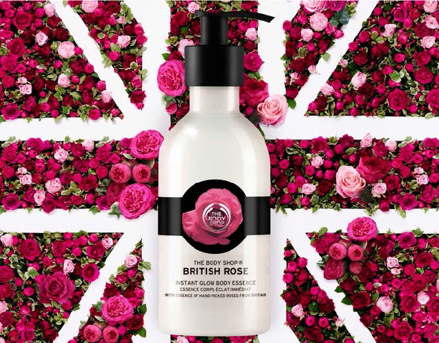 The Body Shop British Rose Collection NZ