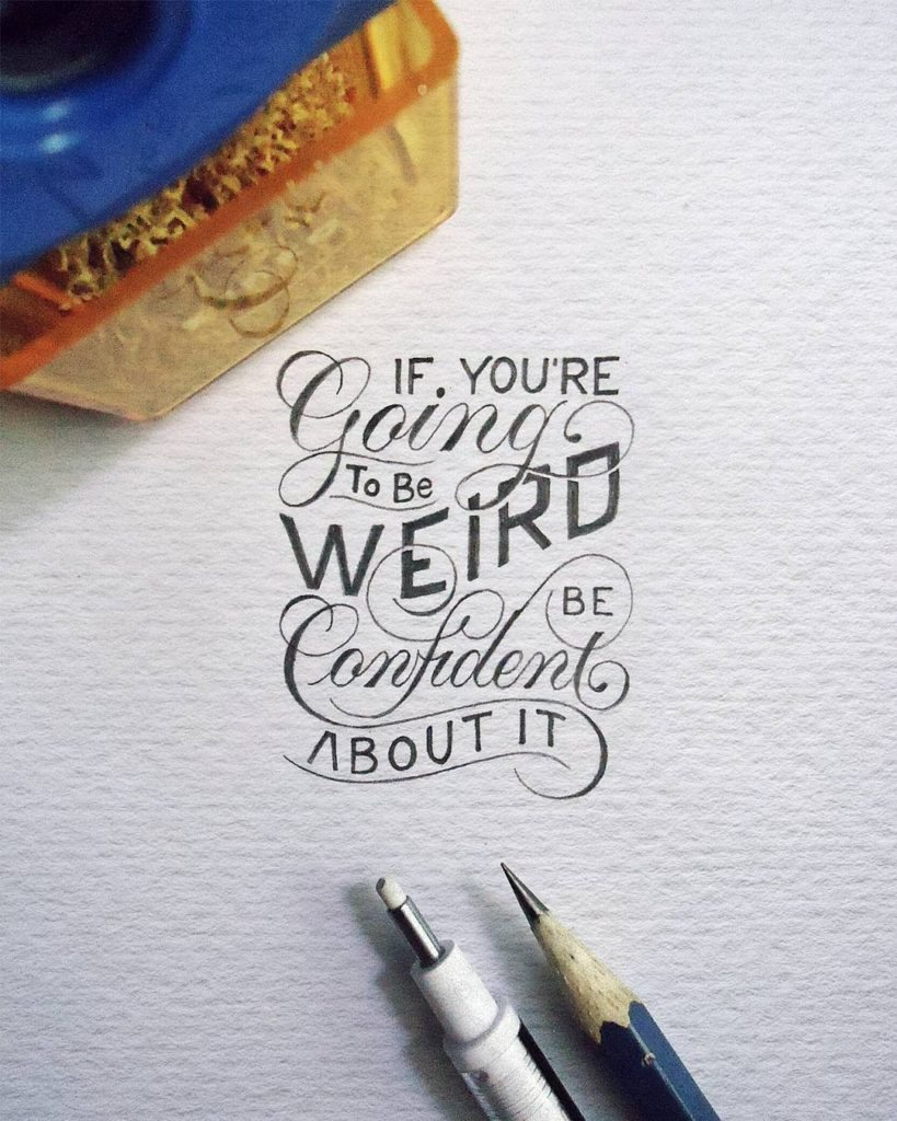 Words, Quotes & Typography Dreams…