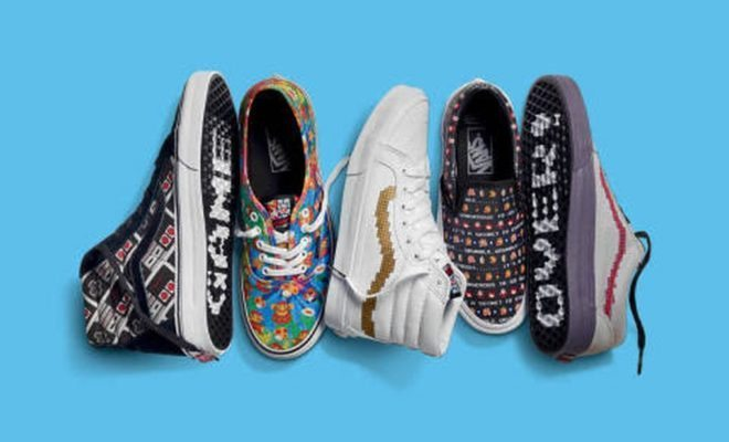 Vans Powers Up with a New Nintendo Collection!