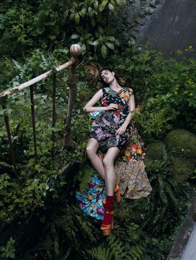 Beautiful Editorial Vogue China image 640 x 850